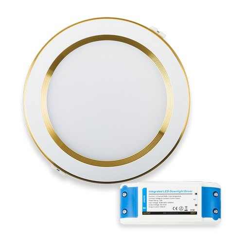 Mi-Light - DOWNLIGHT 12W RGB+CCT - GOLD